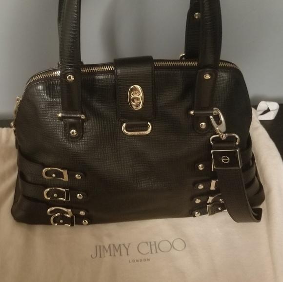 27d43f55252 Jimmy Choo Bags | Black Leather Purse | Poshmark